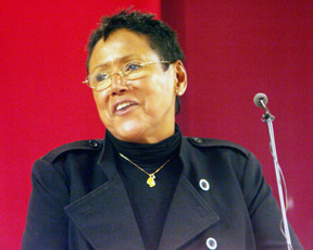 <b>Elaine Brown</b>, the only woman to lead the Black Panther Party while Huey <b>...</b> - elaineBrown